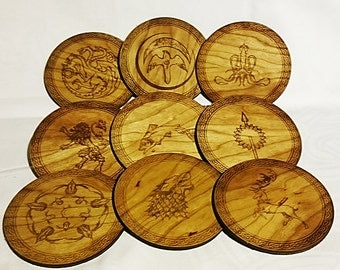 Game of Thrones Coasters