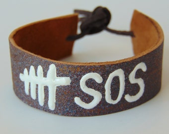 5 Seconds of Summer  leather bracelet and more...