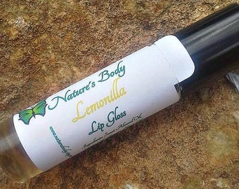 Lemonilla Roll On Lip Gloss, 10 ml Roll On Lip Oil