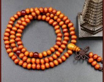 The Iron buddha Mala beads