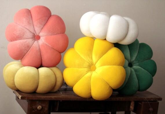 coussins fleur