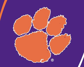 Clemson Tigers Beach Towel