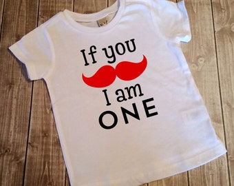 if you mustache im ONE