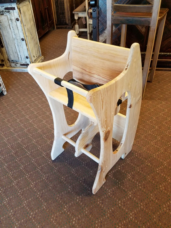 High Chair Desk Rocking Horse 3 In 1 Amish Design Handmade