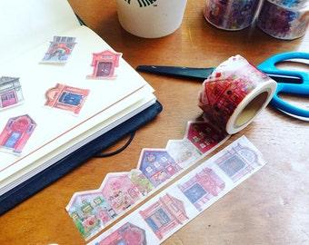 Little house washi sample set ( 200cm )