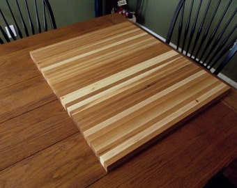 "24""x28""  1 1/4"" thick  Cutting Board Perfect for restaurants or anything requiring a heavy duty cutting service with the beauty of hardwood"