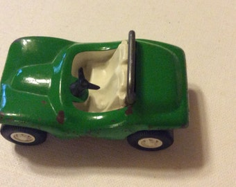 Vintage Tonka Dune Buggy Car Toy Green Convertible Vintage 55340