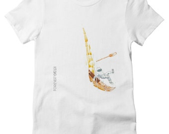 Rocked the Boat  T-Shirt (Womens)