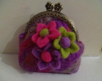 Handmade Felt Purse
