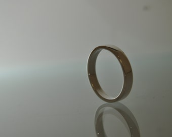 Sterling Silver Flat 2 mm Wedding Band Solid 925 Silver Men's Ring Sizes 9 to 16