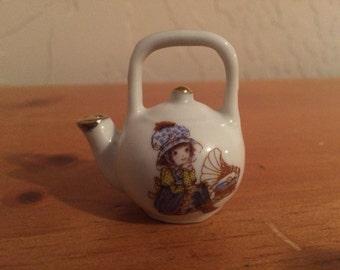Holly Hobby Doll Tea Pot