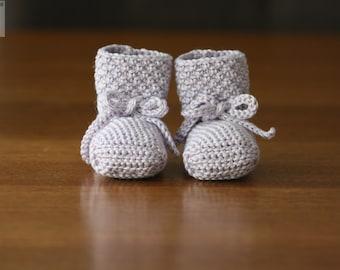 Crochet Pattern - Bellissimo Baby Booties