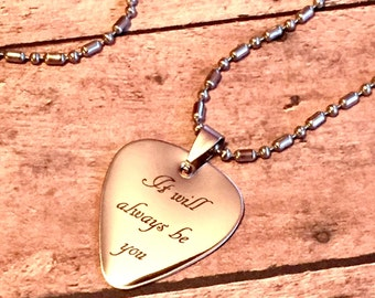 Custom Engraved Guitar Pick, Personalized Guitar Pick, Custom Guitar Pick, Music Gift, Guitar Pick Necklace, Guitar Pick Keychain