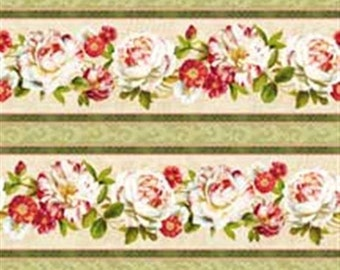 Scentimental By Lisa Audit for Wilmington Fabric  Cotton Quilt Fabric   By the  Yard