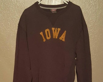 Vintage Iowa Sweatshirt XL