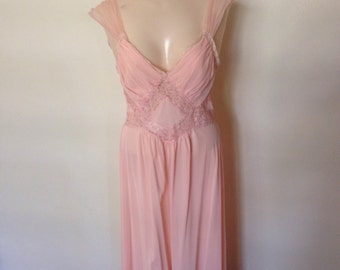 1950's Cotton Candy Colored Slip