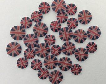 Mini Union Flag Buttons