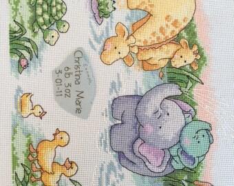 Elephants, giraffes, ducks, frogs....oh my