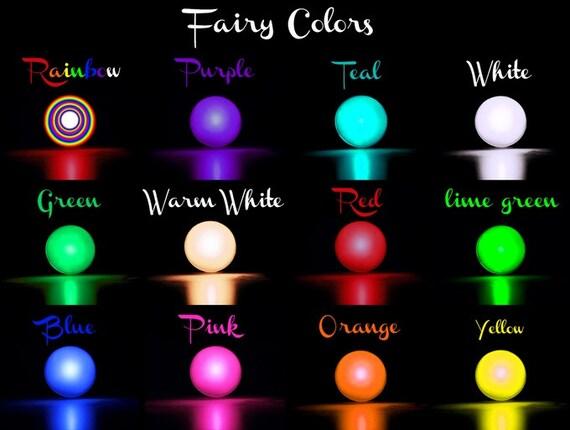 Fairy Lights Fading Light Magic Light Orb Or Ball By