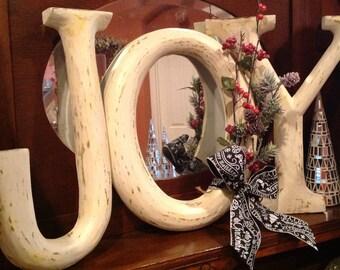 JOY letters