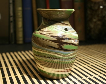 Vintage Desert Sands Handmade Ceramic Vase