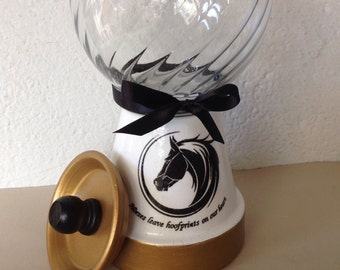 Horse Gift - Gumball Machine Candy Jar