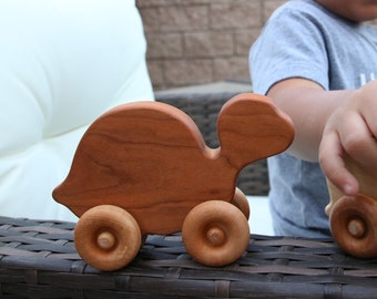 Wooden toy turtle | engraved wooden toys | wooden toy animals