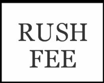Garter Rush Service Fee