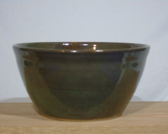 Wheel thrown ceramic bowl