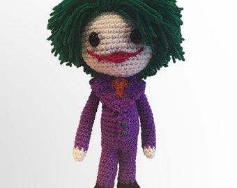 Veros Batmans Joker Crochet Pattern