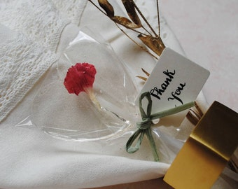Individual Gin Personalised Edible Flower Lollipops
