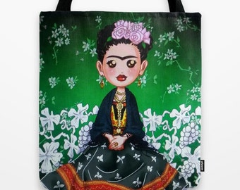 Frida Kahlo Tote Bag / Frida Kahlo Bag