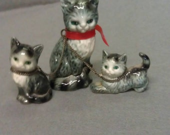 Vintage Goebel Cats on Chains