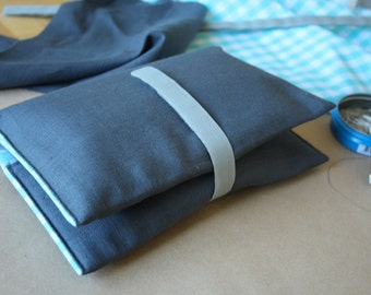 Wrapping case Turquoise (squared)