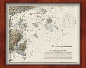 0538-Marblehead Harbor Nautical Chart