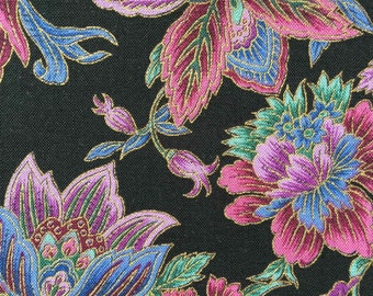 FF78 Hoffman (7 HALF yards available) Floral Fabric