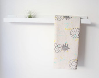 NEW Pineapple // Set of 2 Tea Towels - FREE SHIPPING
