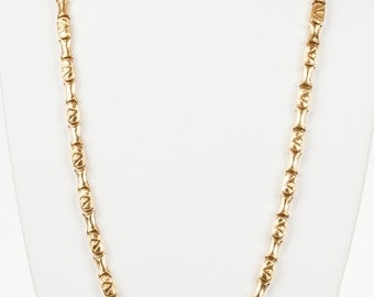 Valentino Monogram Necklace