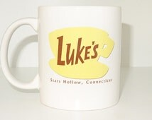 Gilmore Girls Coffee Mug, tea, Luke's Diner Mug, Stars Hollow Connecticut,Gilmore Girls Inspired, Funny, Cool, Novelty mug, printing mug