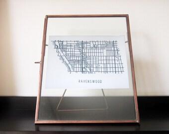 Chicago Neighborhood Map - Ravenswood