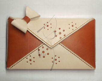 Example Envelope Clutch with Bow (This listing not for sale just example)