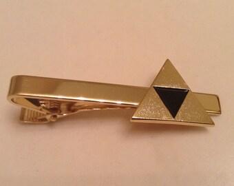 The Legend Of Zelda Triforce Metal Tie Clip
