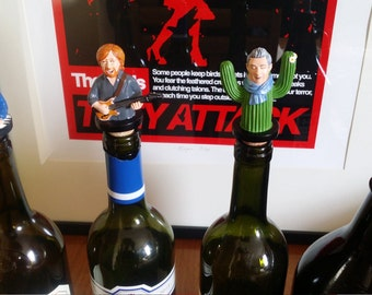 Complete set of 4 Phish wine stoppers