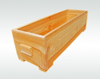 Fairy Herb Garden Cedar Wooden Window Wood Planter Flower Box Pot Gift for Gardener Gift Accessories