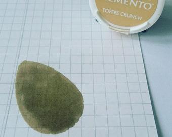Memento Dew Drop - TOFFEE CRUNCH - Dye Ink by Tsukineko