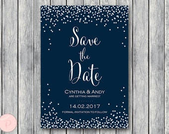 Save The Date Wedding Invitation, Snow White Invitation Printable, Bridal Shower Invitation, Wedding InvitationTG00 WS51