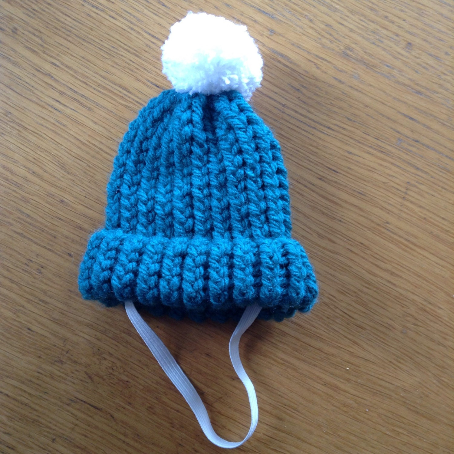 Knitting Pattern For Small Dog Hat : Small Dog Bobble Hat Cat Hat Knitted Cat Hat Small Animal