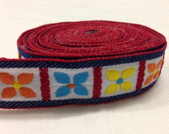 Embellished cotton tape 20 mm