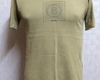 Vintage 90s BITCH SKATEBOARDS Tshirt
