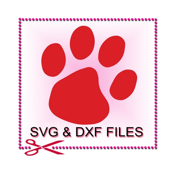 Download Paw Print SVG Files for Cutting Dog Cricut Animal Designs
